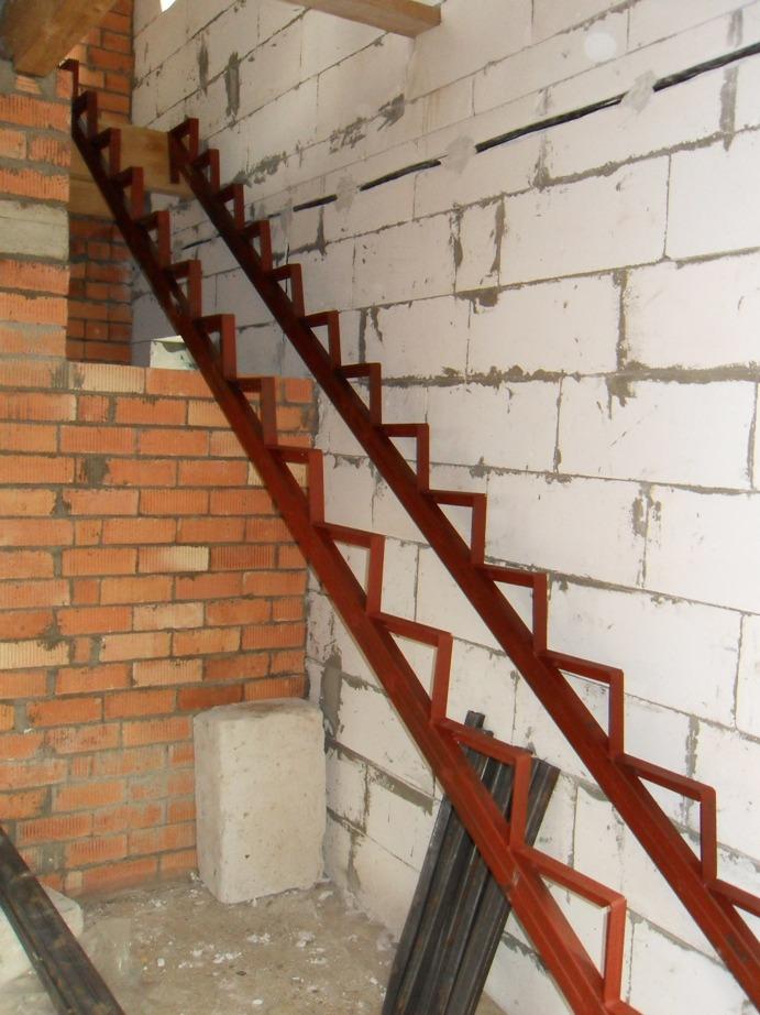 Как сделать металлическую лестницу на второй этаж своими руками фото 85